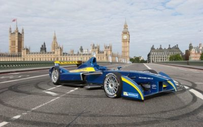 Formula E-Prix at ExCel London