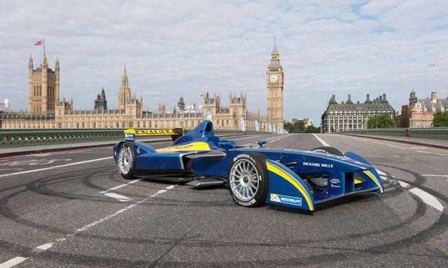 Formula E-Prix at ExCel London