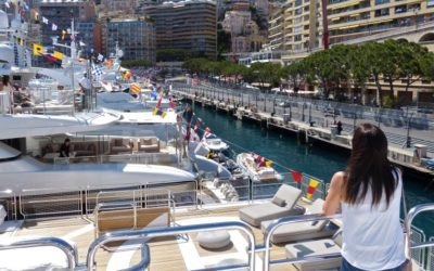 Exclusive Yacht at the Monaco Grand Prix